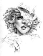 Модные иллюстрации – Леди Гага