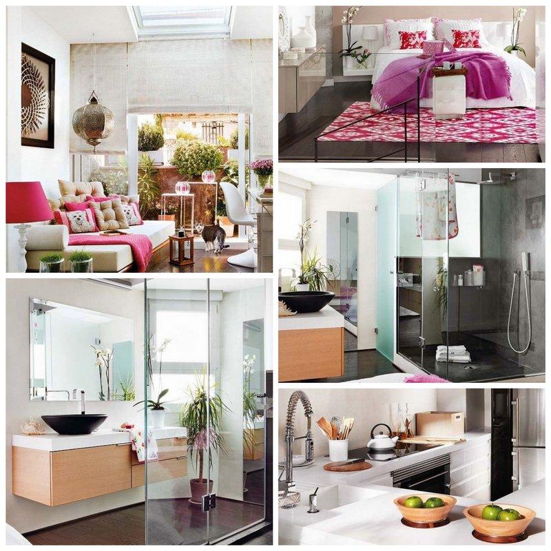 Марокканский интерьер квартиры в Мадриде