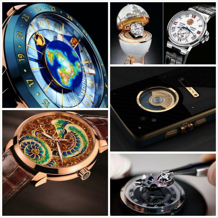 Швейцарские часы Ulysse Nardin - золотой якорь качества и надежности