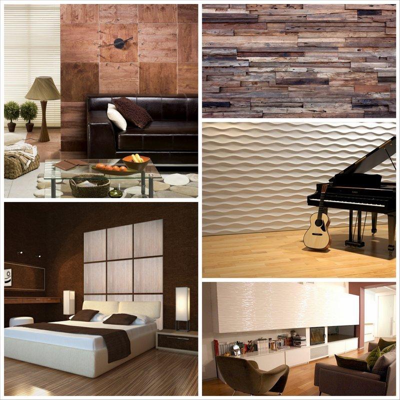 Панели настенные декоративные – лучшее решение для отделки помещения