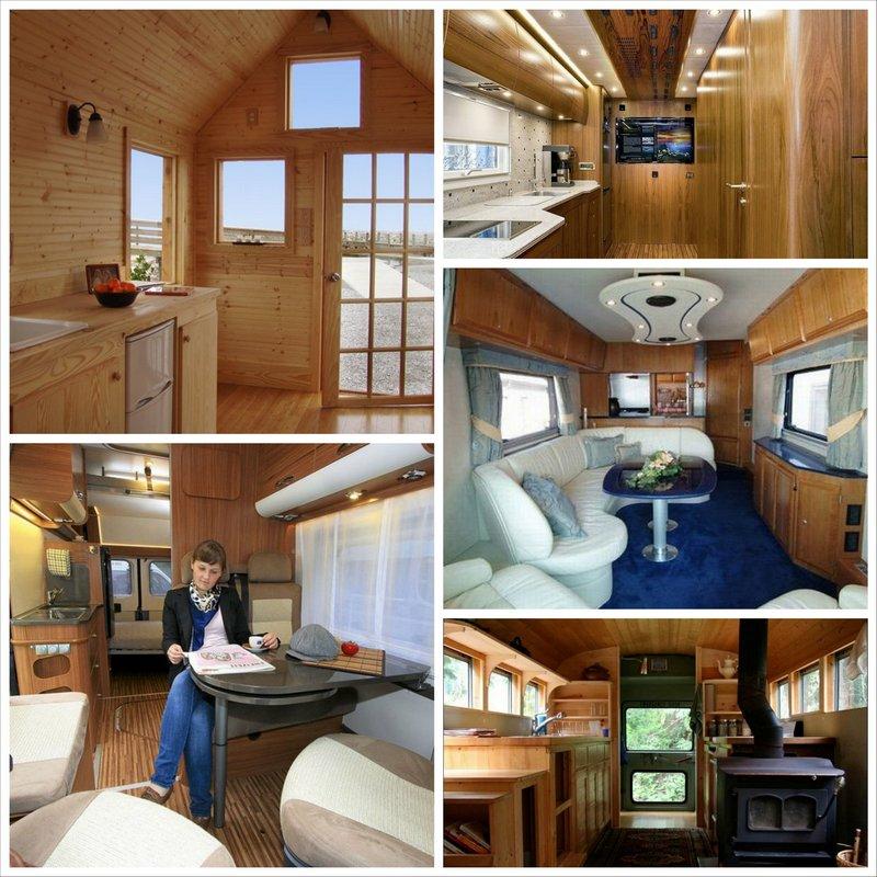 Дом на колесах - трейлер или автобус, для комфортного отпуска