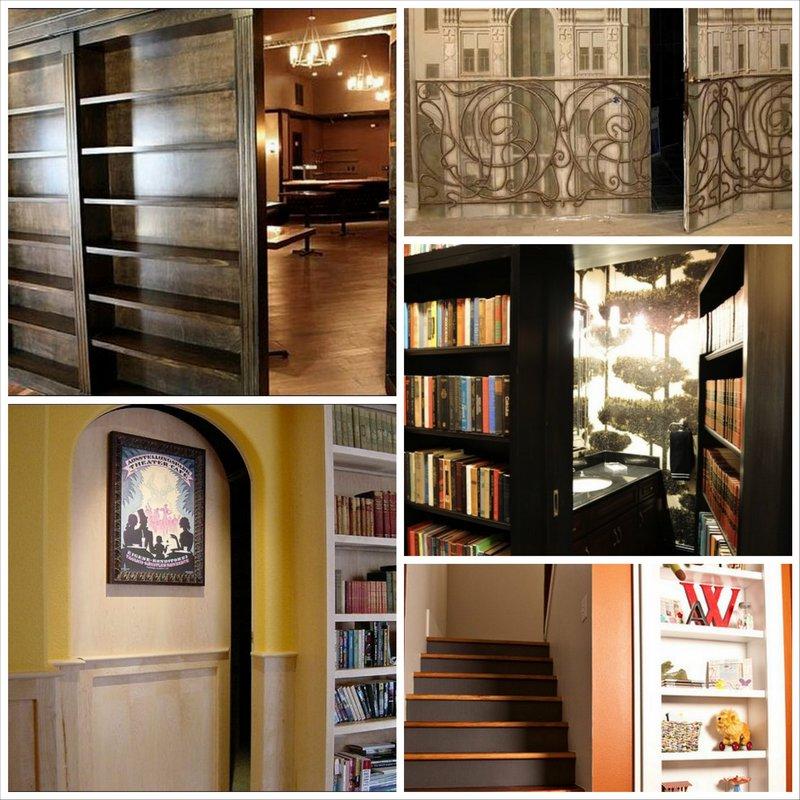Тайная комната в доме и способы ее оформления