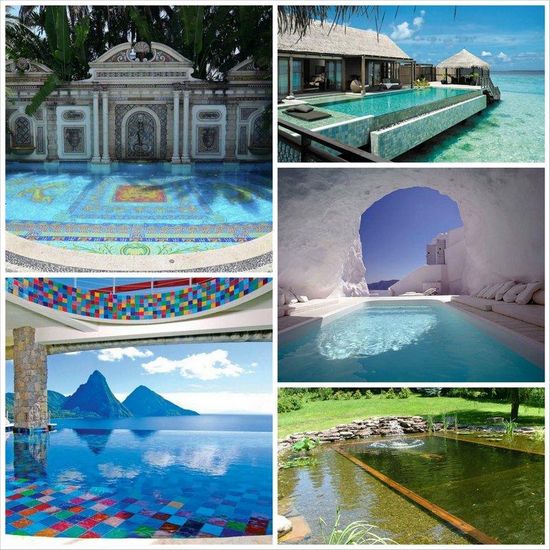 20 необычных бассейнов со всего света