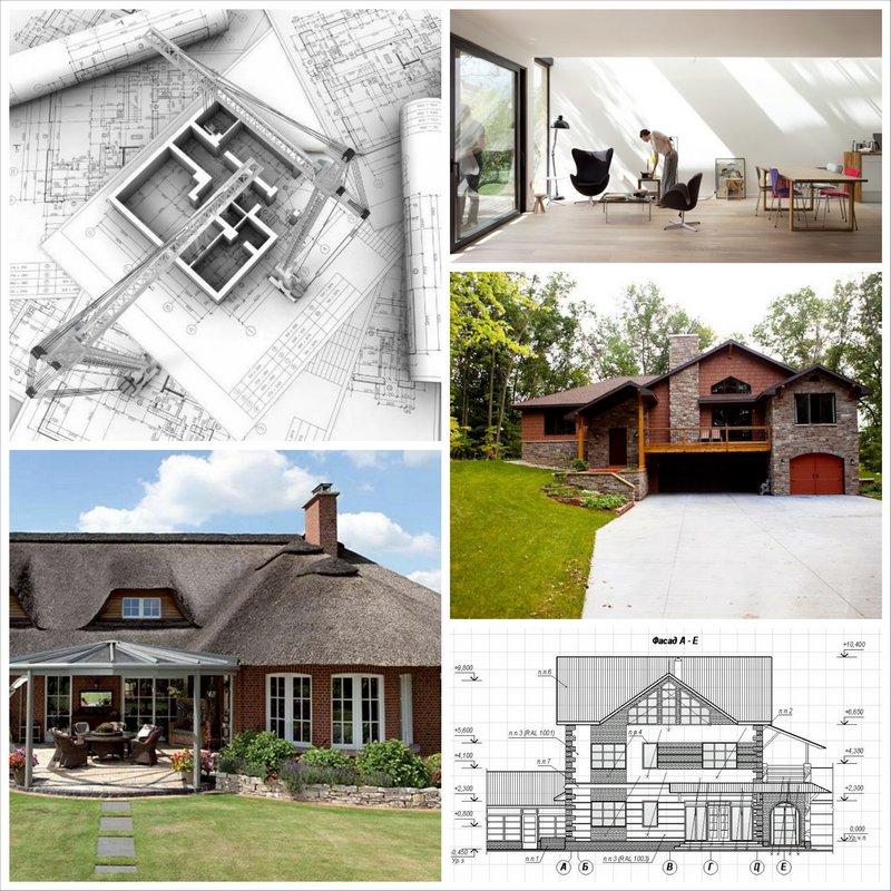 Дизайн дома по собственному проекту
