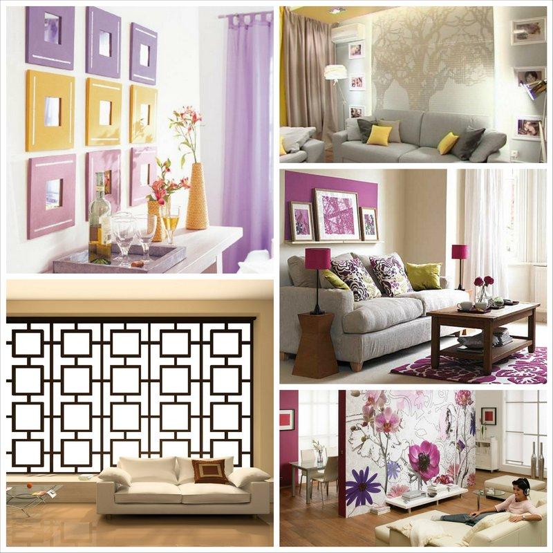 Как красиво украсить гостиную?