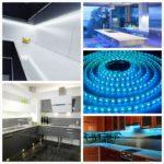 Подсветка кухни светодиодной лентой – особенное оформление