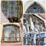 Кованые решетки на окна — красивая и надежная защита