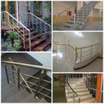 Алюминиевые перила — лучший выбор для изготовления лестничных ограждений