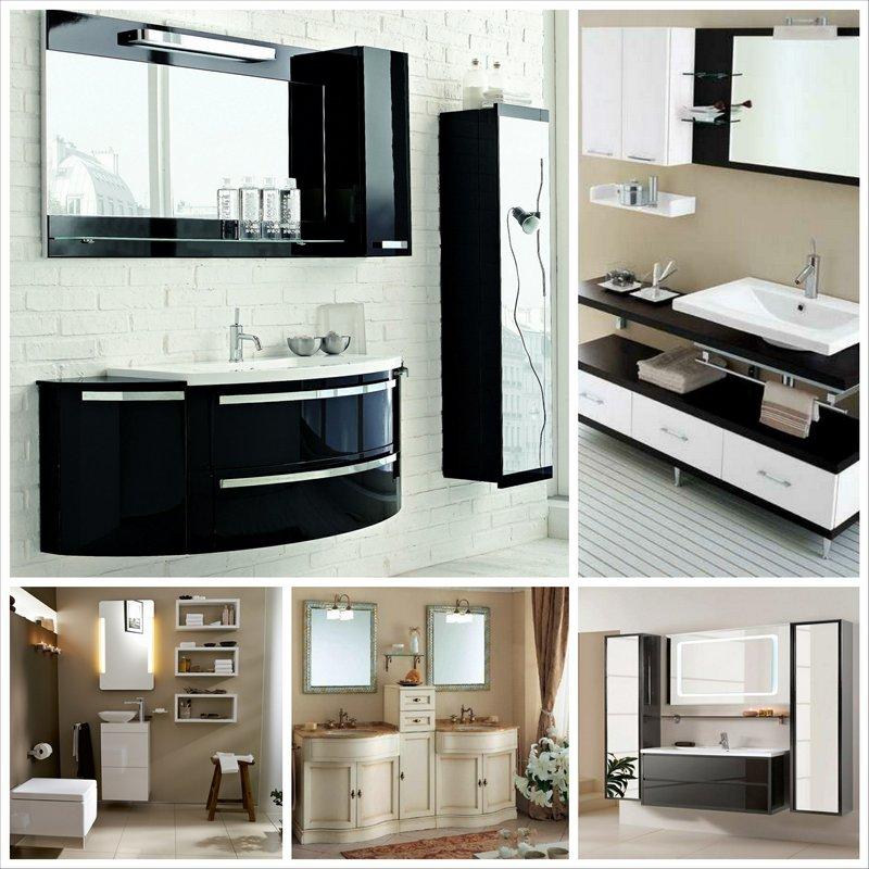 Мебель для ванной комнаты - советы по выбору