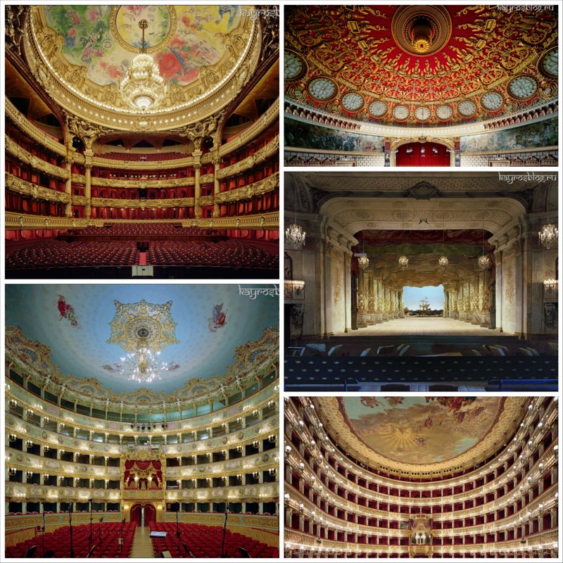 Самые красивые оперные театры планеты