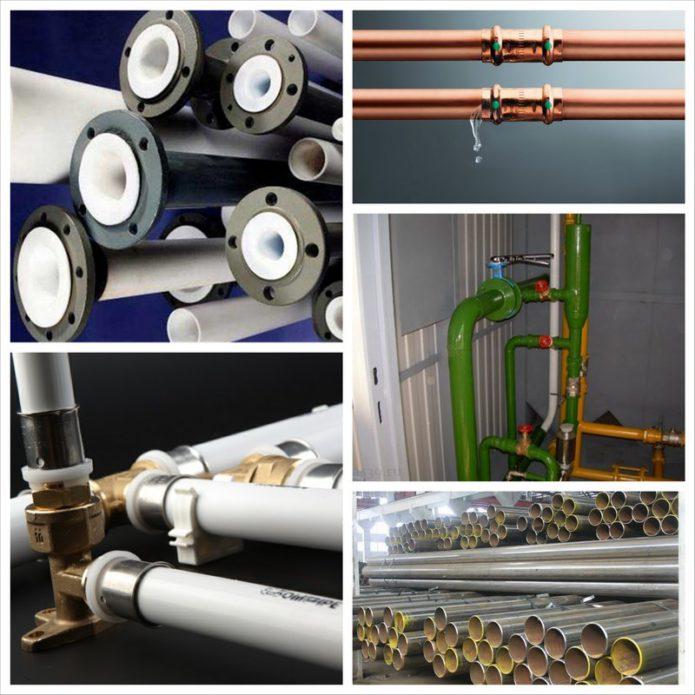 Трубопровод - какие выбрать трубы