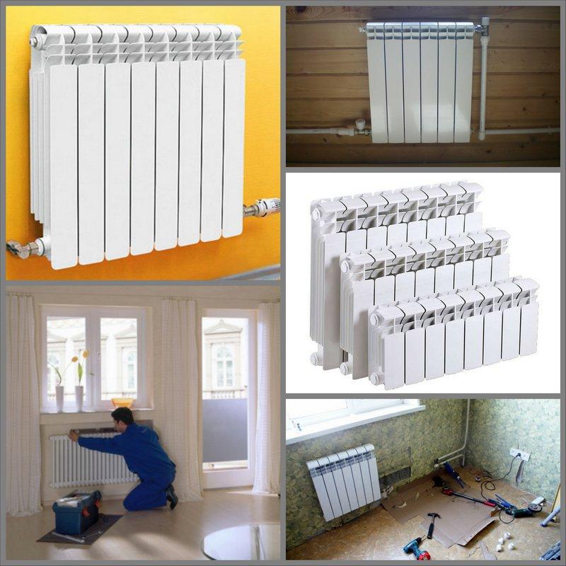 Замена батарей в квартире - советы и рекомендации