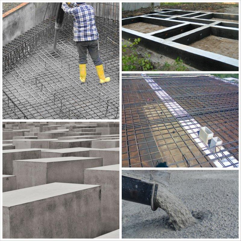 как правильно приготовить бетон для фундамента