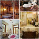 Дизайн интерьера ванной комнаты в разное время