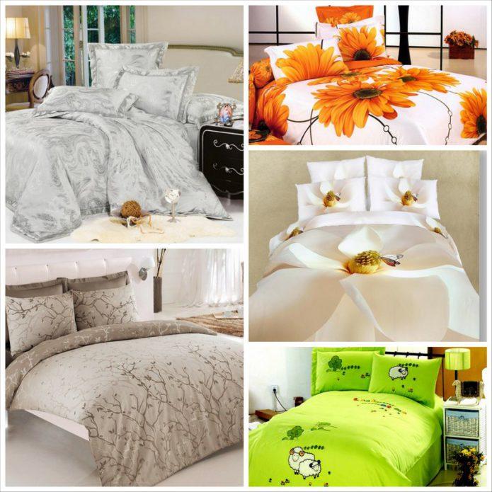 Недорогое постельное белье - своеты по выбору