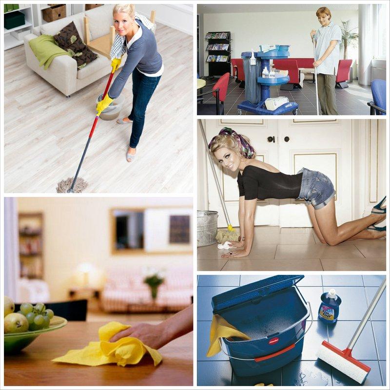 Уборка помещений и квартир - шесть главных ошибок весенней уборки