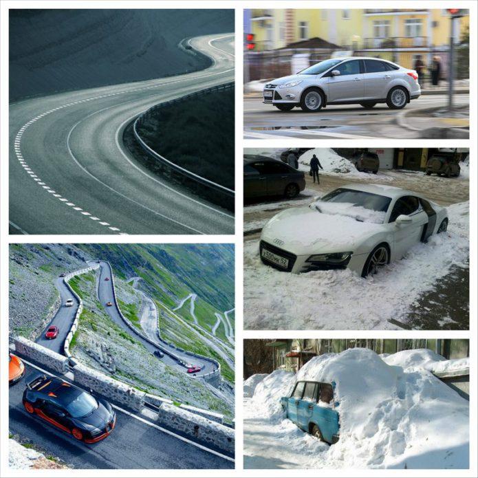 Весенняя ситуация на дорогах