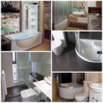 Душевая кабина с ванной и туалет – проблема объединения