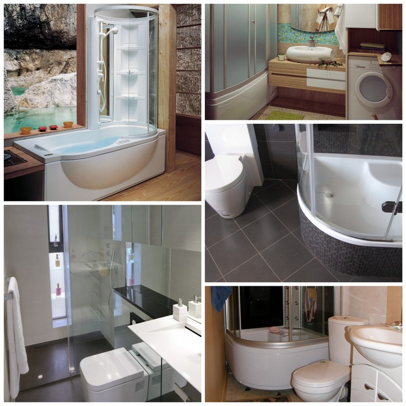 Душевая кабина с ванной и туалет - проблема объединения