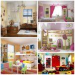Интерьер детской комнаты – оформляем сами