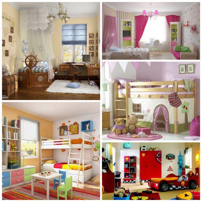 Интерьер детской комнаты - оформляем сами