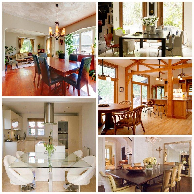 Интерьер столовой в вашем доме