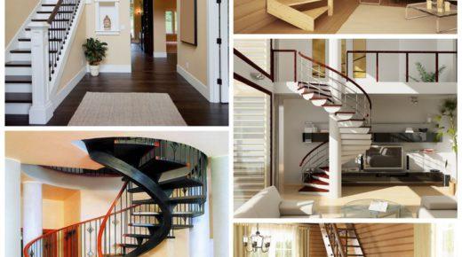 Лестница — неотъемлемый художественный объект дома