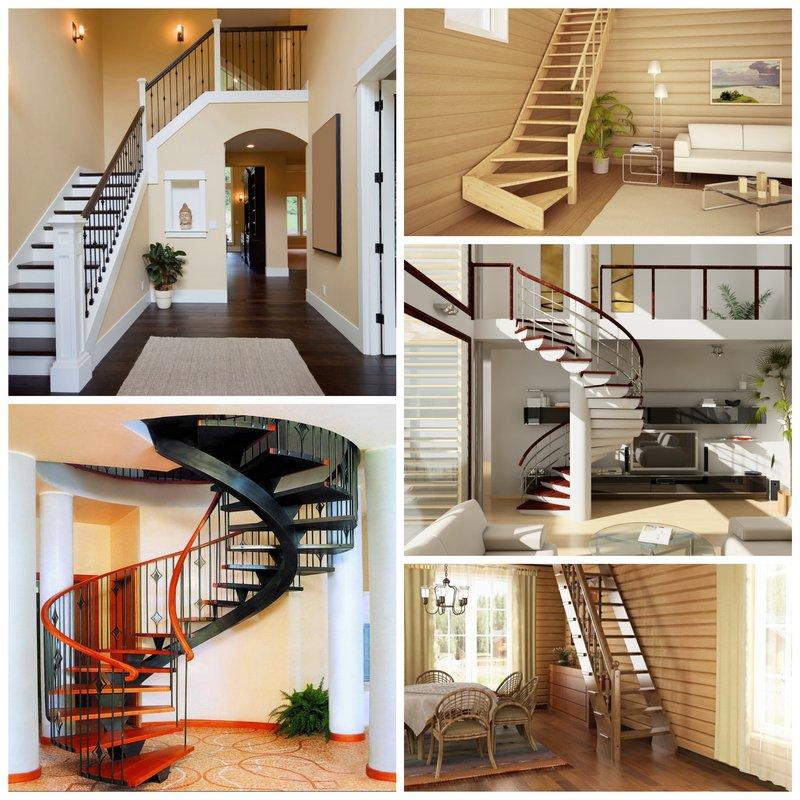 Лестница, как художественный объект дома