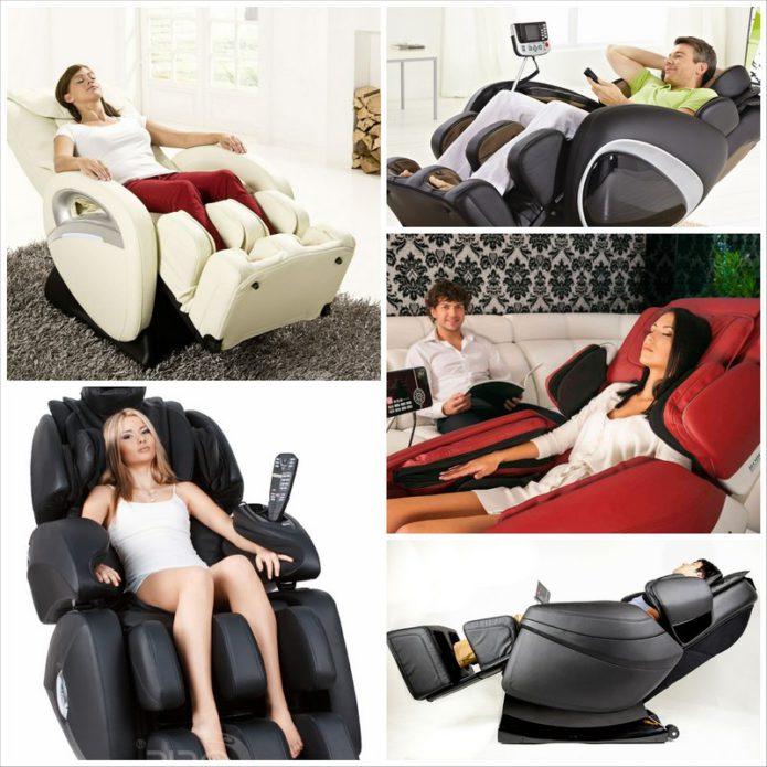 Массажное кресло - комфорт и здоровье для всех