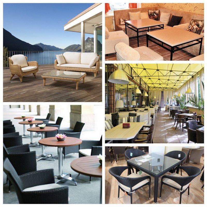 Мебель для кафе - нюансы выбора