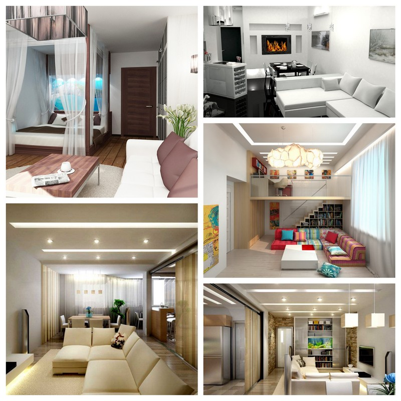 Меняем дизайн интерьера однокомнатной квартиры