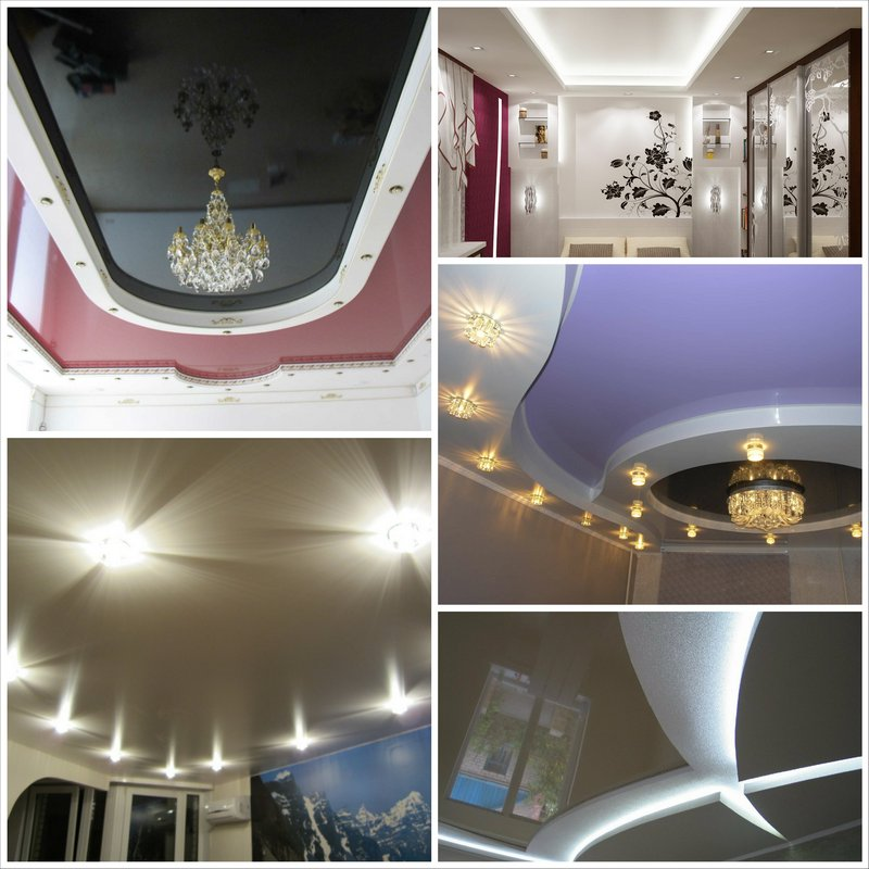 Натяжные потолки с подсветкой - достоинства и недостатки