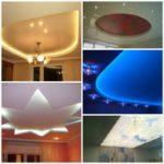 Натяжные потолки с подсветкой – современный дизайн