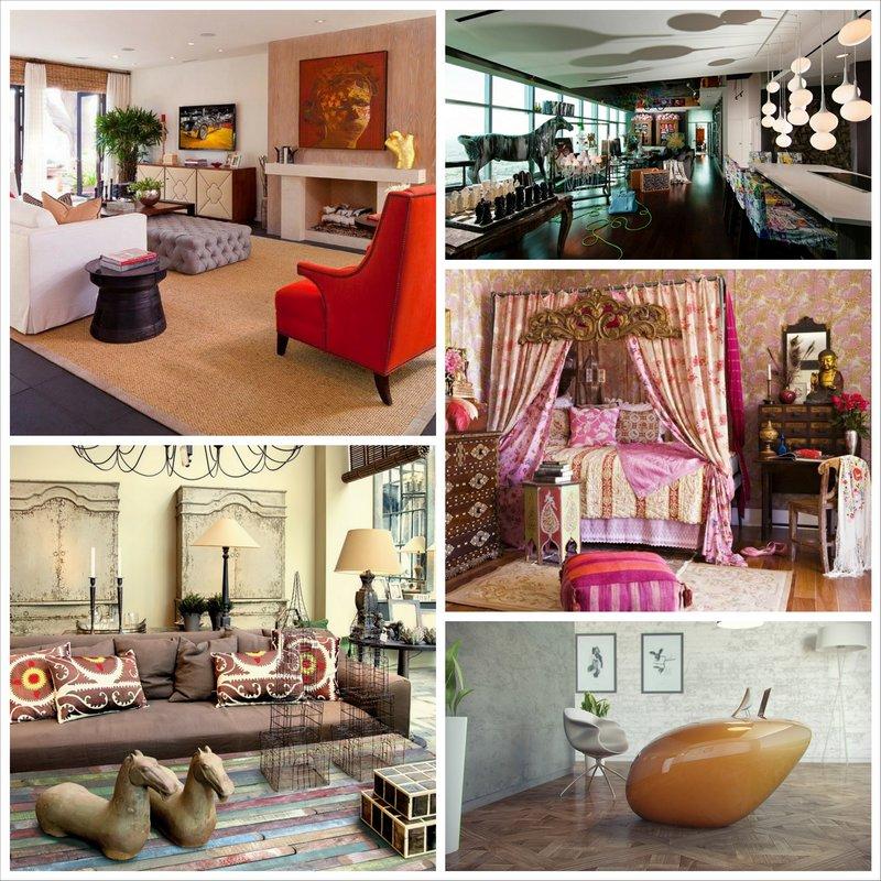 Необычные решения в интерьере квартиры