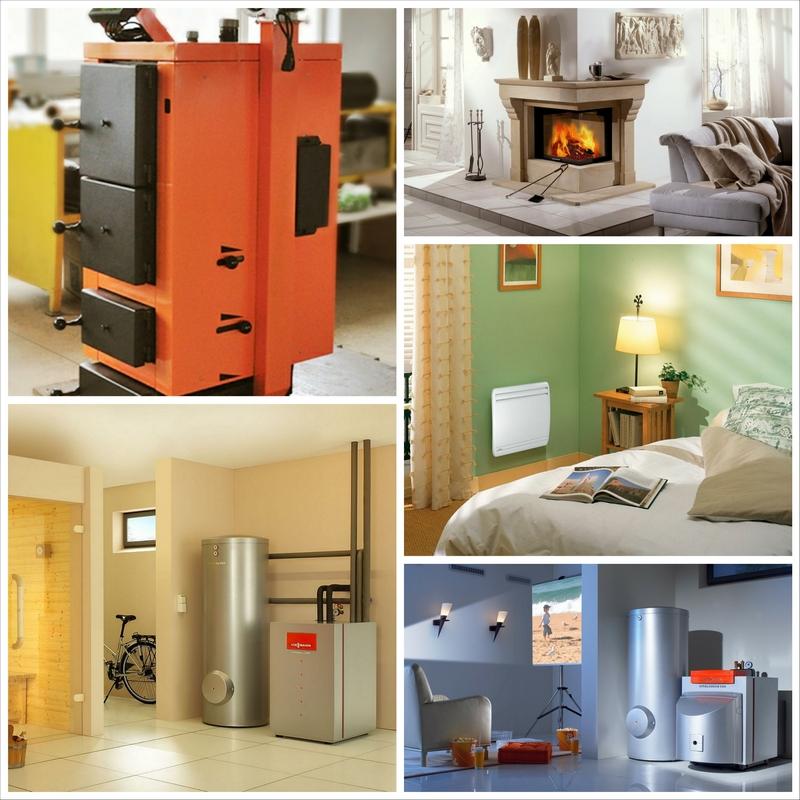 Отопительные системы для частных домов - состав и конструкция 1