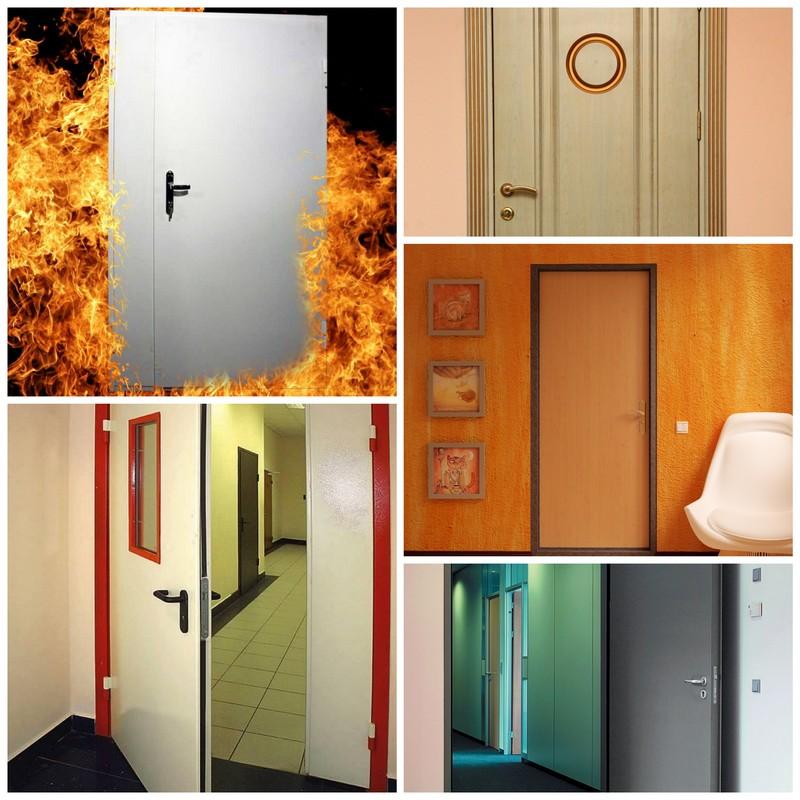 Противопожарные двери - основные преимущества