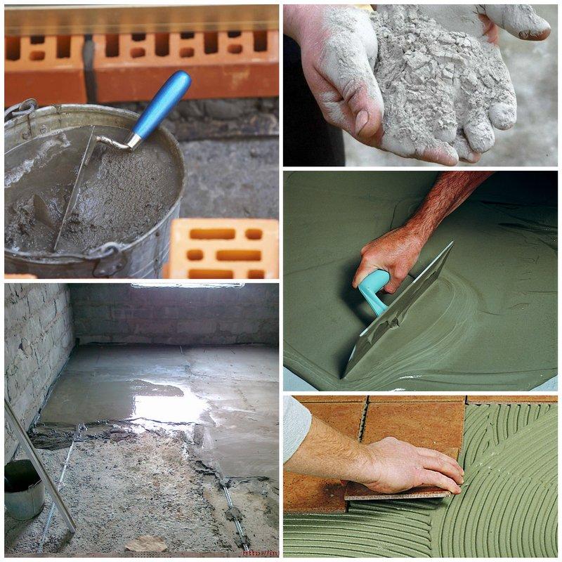 Что такое сухие строительные смеси