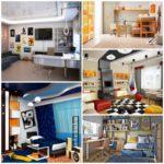 Интерьер комнаты для подростков от 12-ти лет. Мебель. Отделка стен. Освещение.