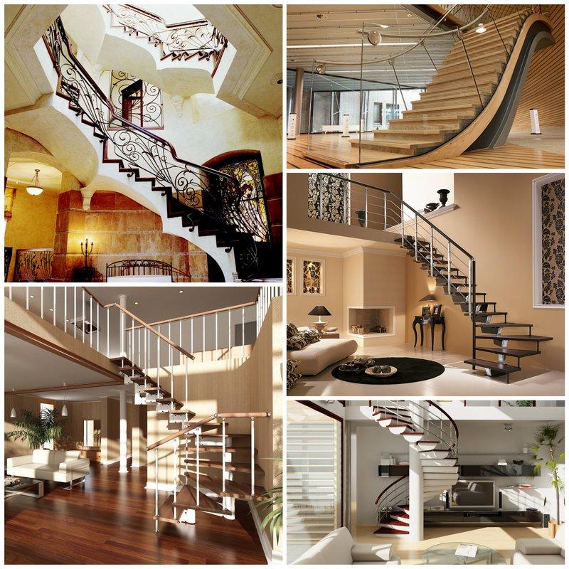 Лестница в интерьере вашего дома