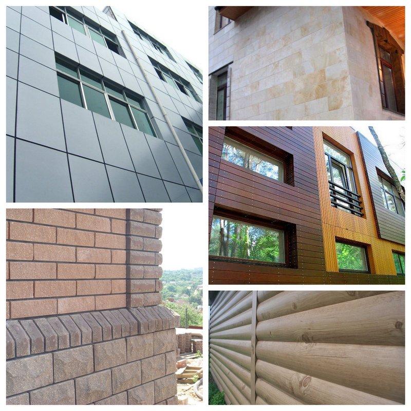 Материалы для облицовки фасадов - что выбрать