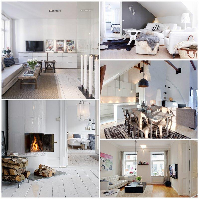 Шведский стиль в интерьере – когда дома хочется творить