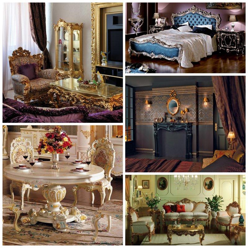 Стиль барокко в интерьере - роскошь и величие в вашем доме