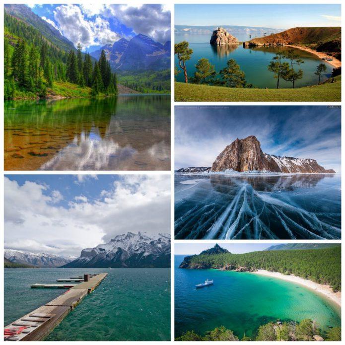 Байкал - великоепное место для туризма