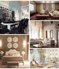 Дизайн интерьера — стиль неоклассика