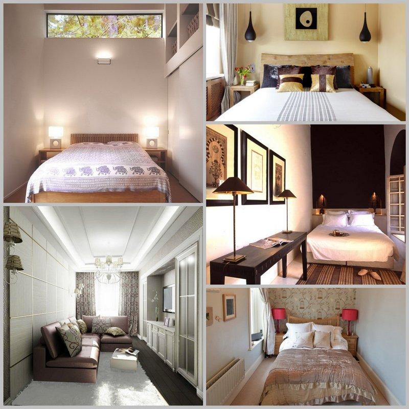 Дизайн узкой спальни в вашем доме