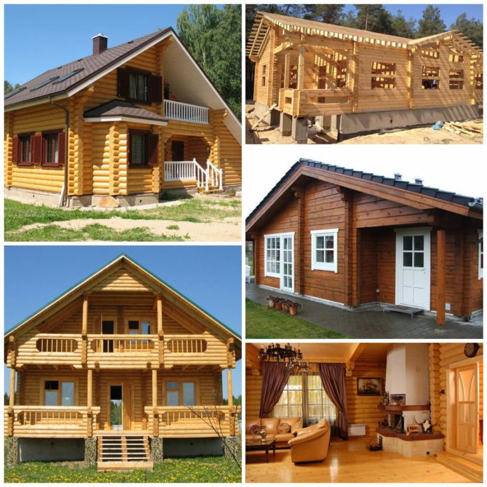 Дом из бруса - комфорт и качество