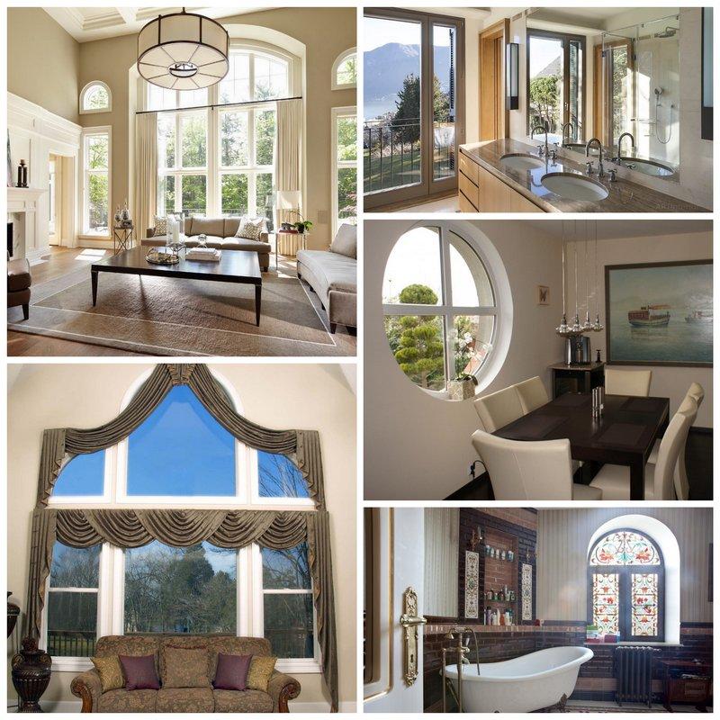 Форма окна в дизайне интерьера