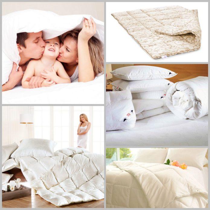 Выбор подходящего материала при покупке одеяла