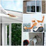 Полезные советы по уходу за пластиковыми окнами