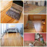 Ремонт деревянного пола в вашем доме